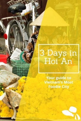 Planning a trip to Hoi An? Here is my Hoi An Blog covering what to do in Hoi An in 3 Days: from vietnamese coffee to vietnamese cooking lessons to the one restaurant you must not miss #hoian#whattodoinhoian #vietnam #hoianfood #vietnamfood