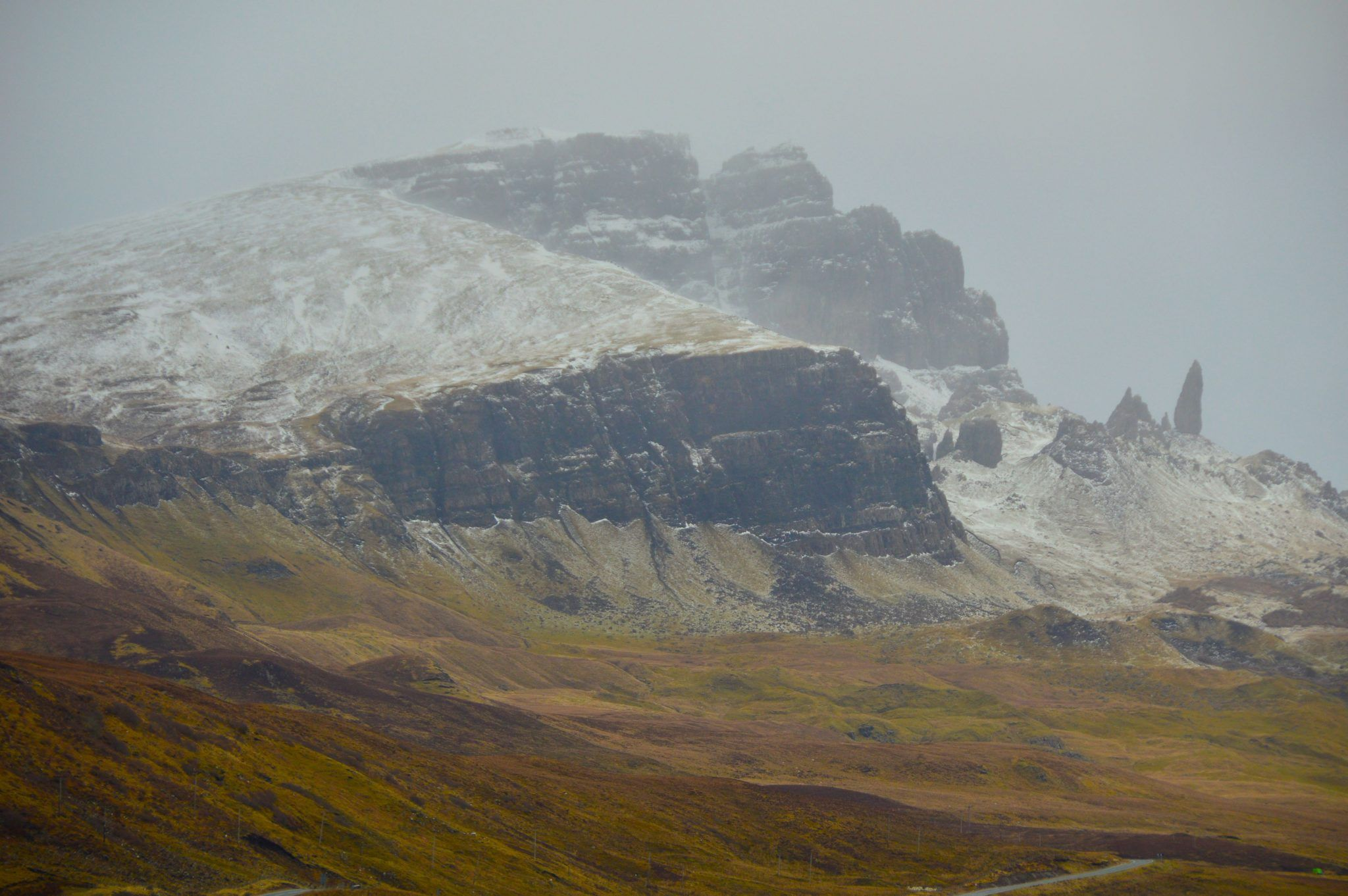 The old Man of Storr on the Isle of Skye Scotland