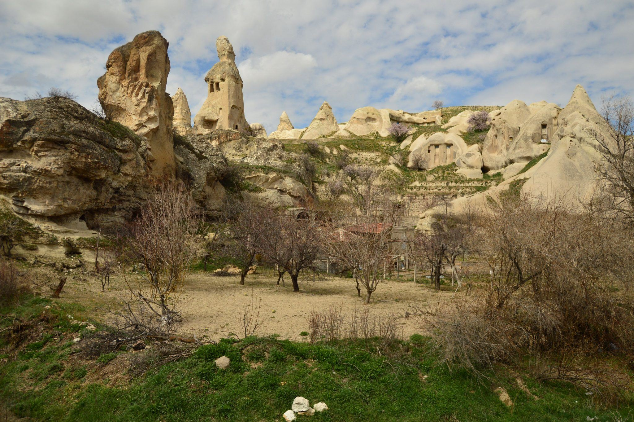 fairy castles in the Pigeon Valley - part of my Cappadocia Itinerary