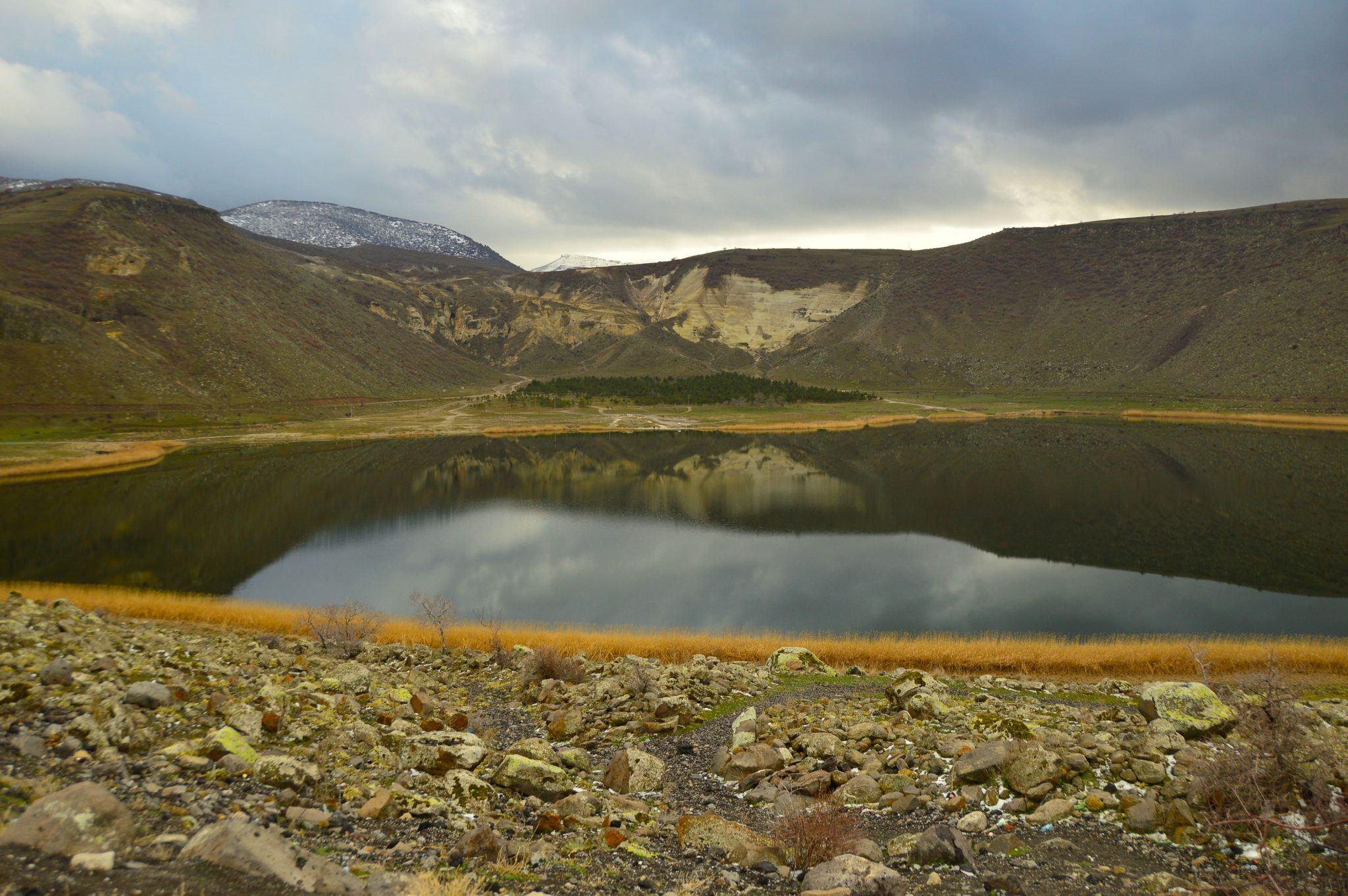 Lake in cappadocia