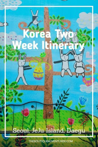 A Korea itinerary that gives you everything you need to plan your time from Seoul to the DMZ to Jeju Island, Daegu, JeonJu and back to Seoul #korea#southkorea#seoul#seoulkorea#koreaitinerary#southkoreaitinerary#seoul#seoulsouthkorea#jejuisland#jejuislandkorea#daegu#daegukorea#daegusouthkorea#seoulkorea#jejuislandsouthkorea#jeonju#jeonjukorea#jeonjusouthkorea#koreatravel#koreahotels#koreatraveljeju