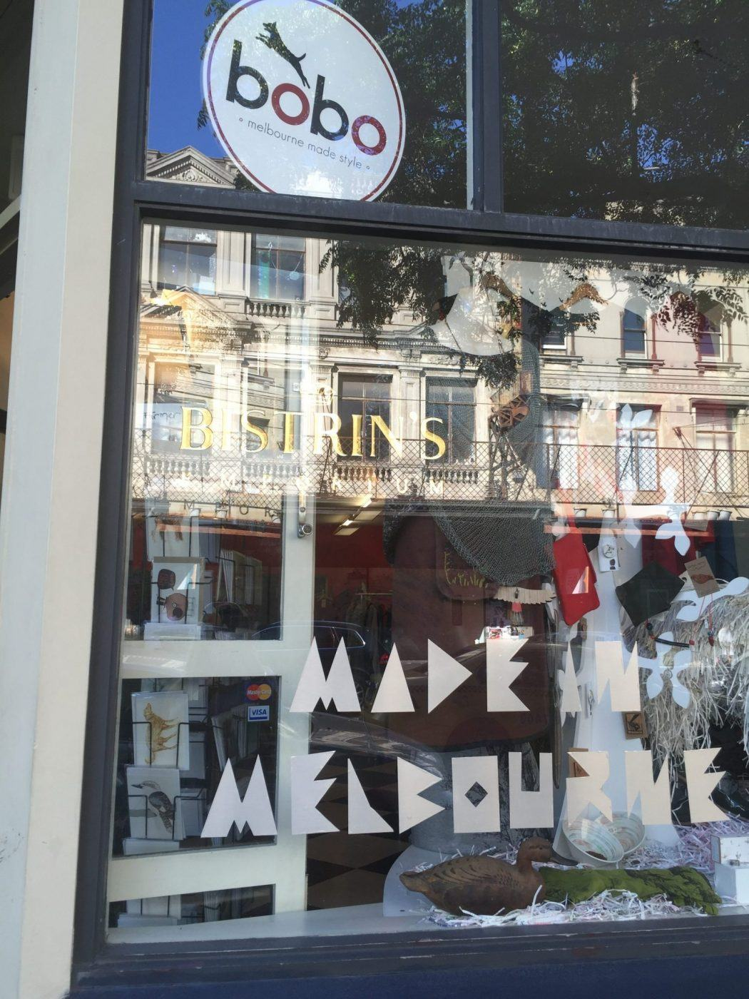 Made in Melbourne shop front
