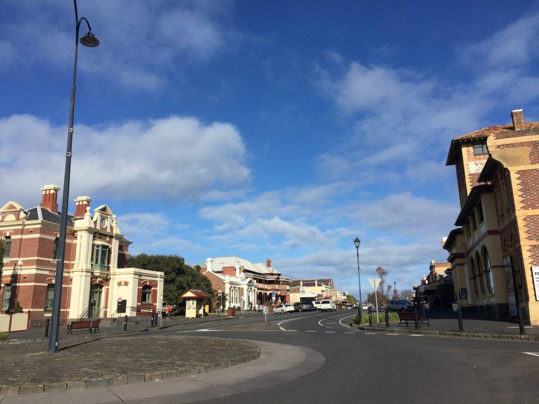 the main street in Queenscliff