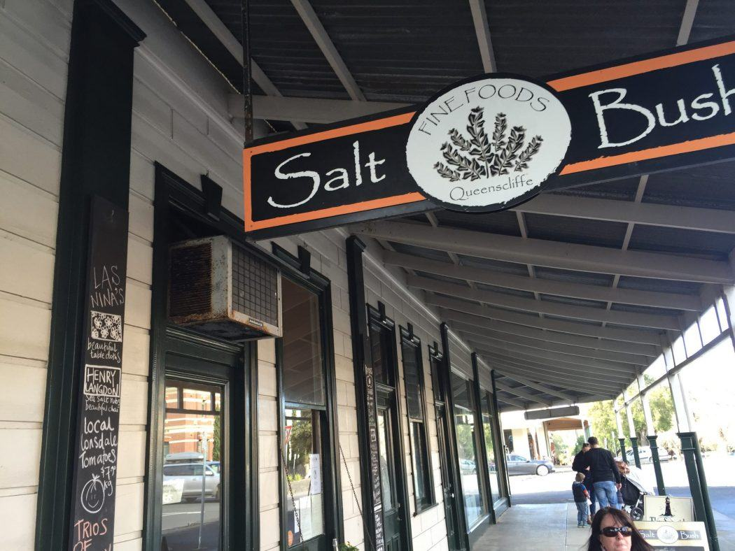 signage for Salt Bush in Queenscliff