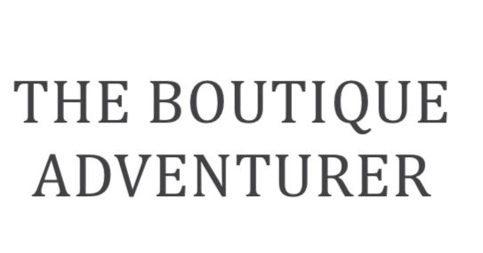 The Boutique Adventurer - Adventures with a high thread count on your sheets