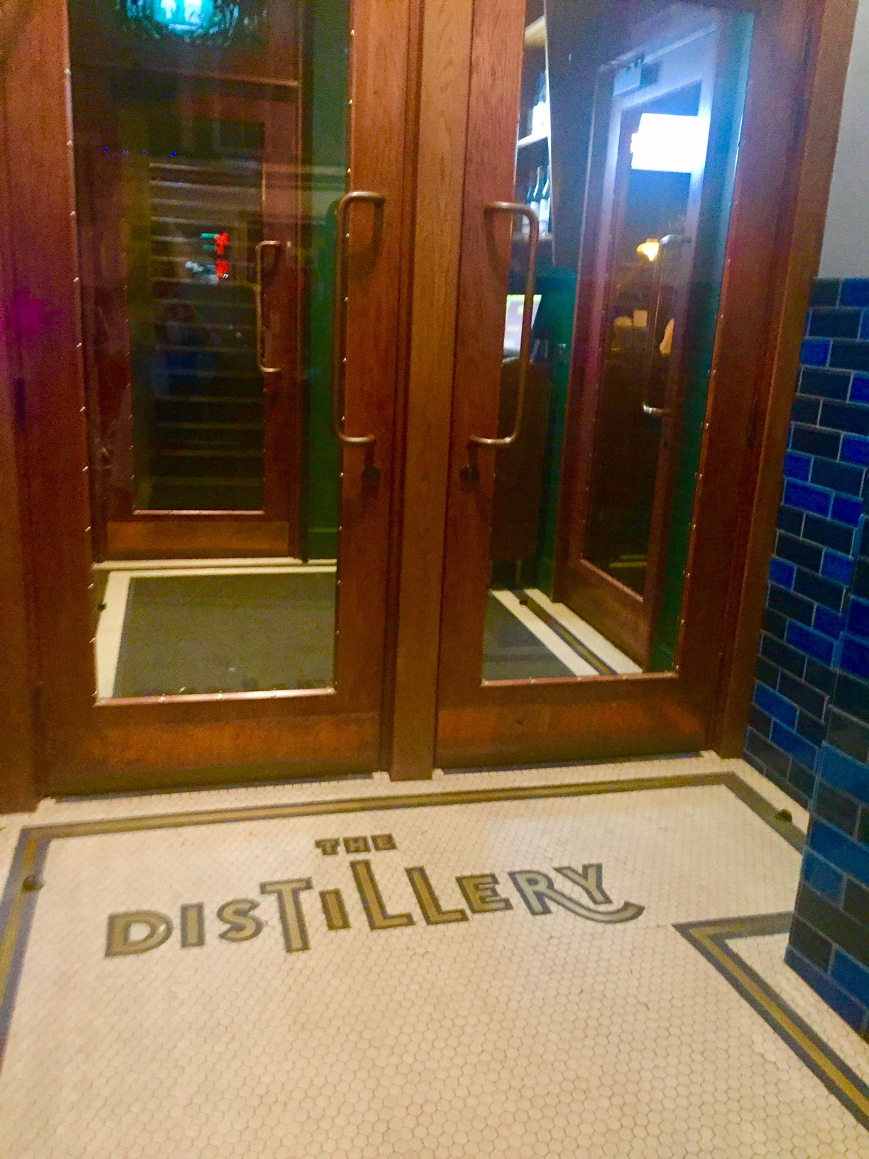 the entrance to The Distillery in Notting Hill