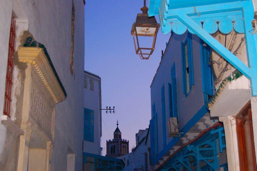Early evening in Sidi Bou Said
