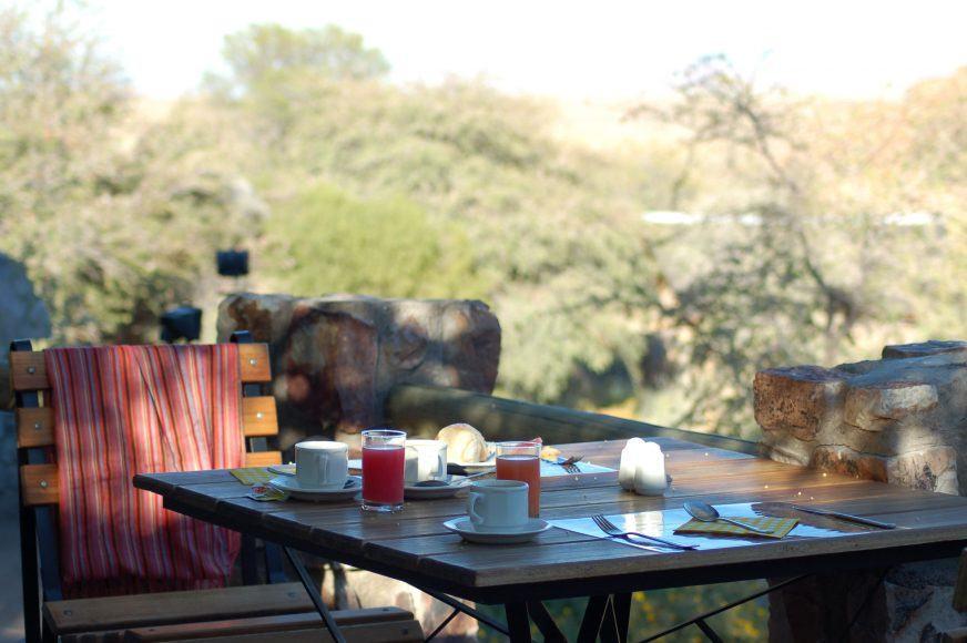 Breakfast at Canyon Lodge