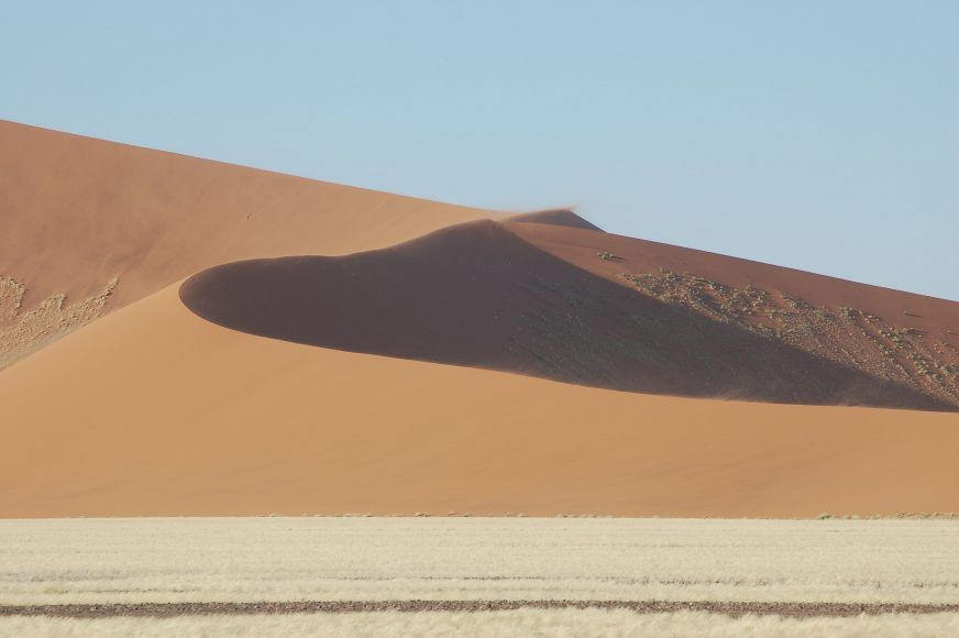 The dunes of Sossusvlei