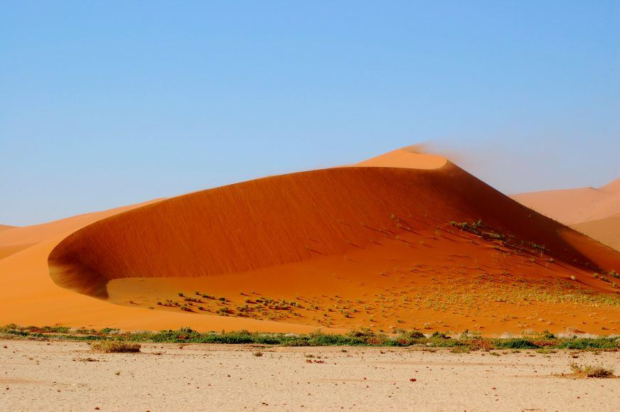 Surreal colours in Sossusvlei
