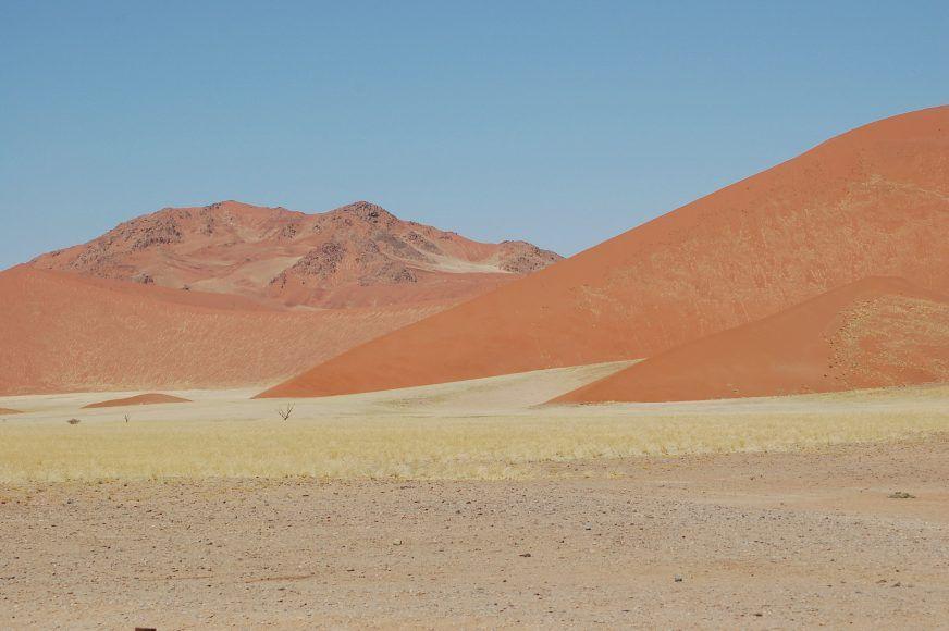 Pastel sand dunes