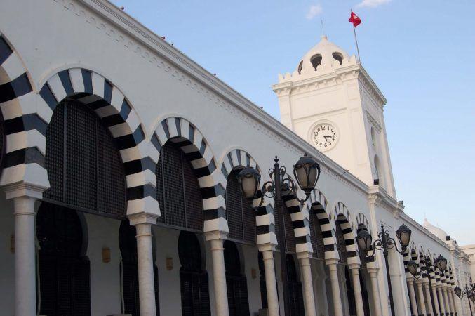 Classic Tunis architecture