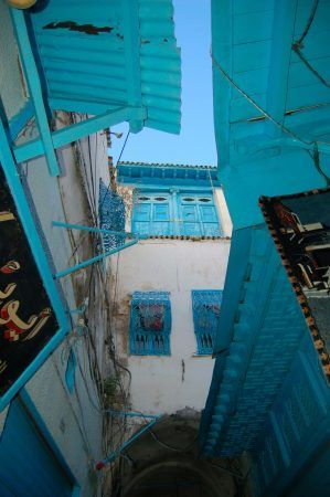 Back streets of the Medina