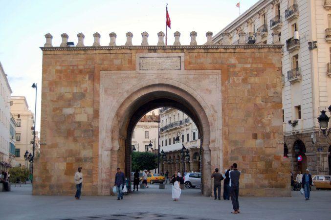 Bab El Bahr or the French Gate
