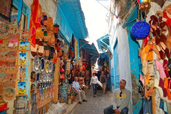 Souq in the Medina