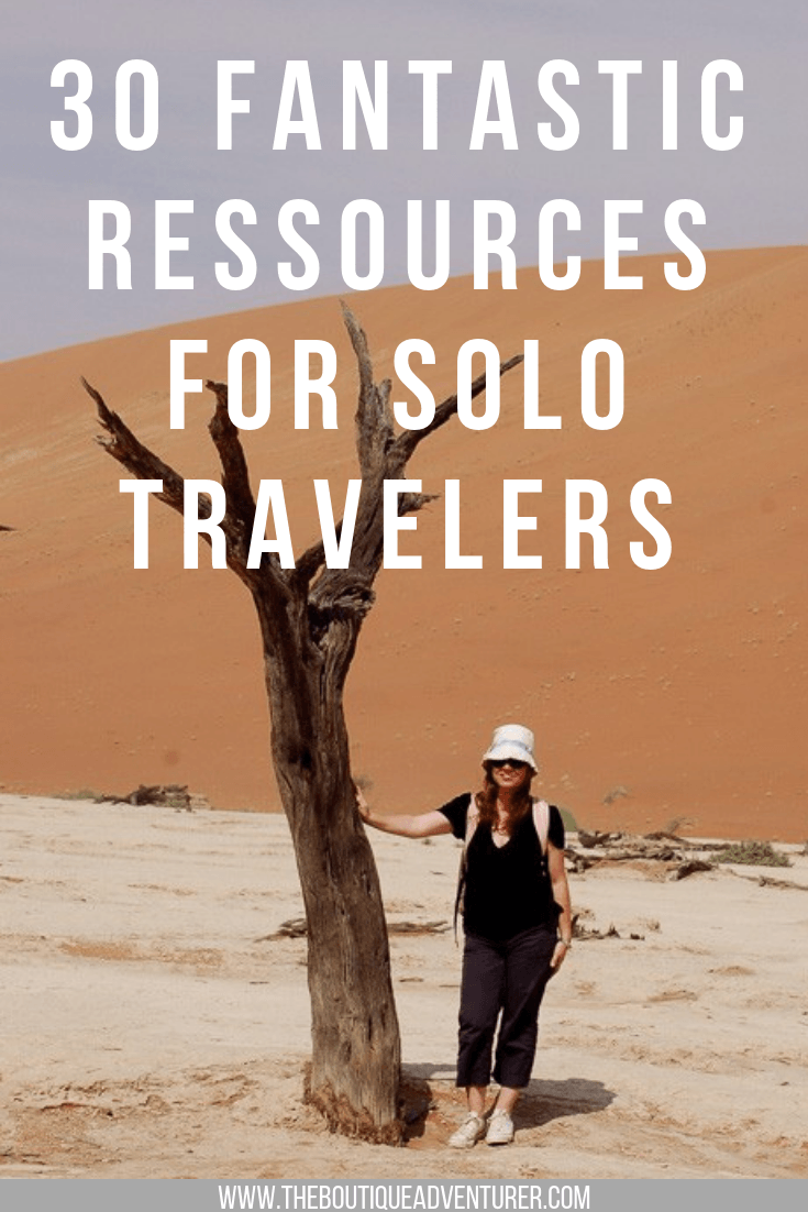 Are you a solo traveler looking for adventure? Here are 30 groups to help female solo travelers and single travelers to plan their next trips. Find solo travel tips and tour companies to plan your next vacations. #solotravel #traveltips