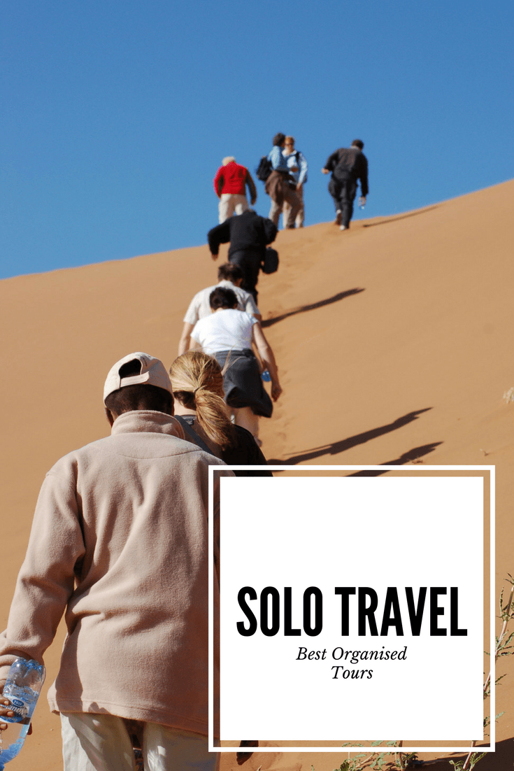 The best organised tour options for solo travellers - from adventurous to luxurious to charity trips #toursforsinglestravellingalone #solotravel #singletravel #travelingalone