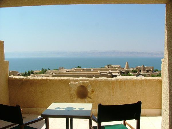 The dead sea from the balcony
