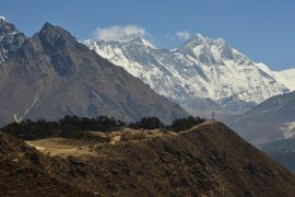 view of mount everest