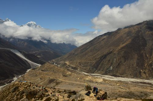 trekking path everest base camp