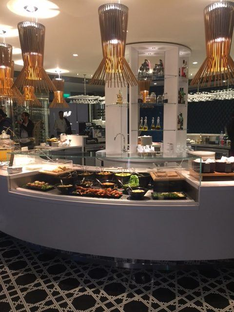 global deli buffet in qatar lounge heathrow
