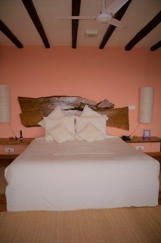 bed in room at dwarika's resort