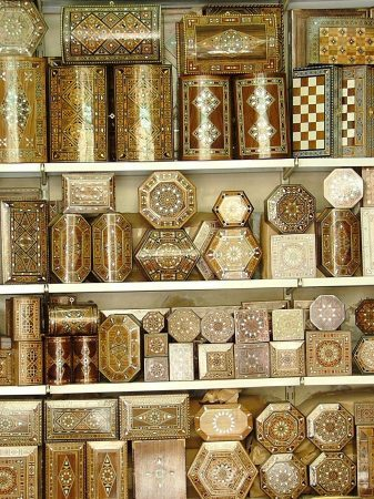 Boxes at the Souq