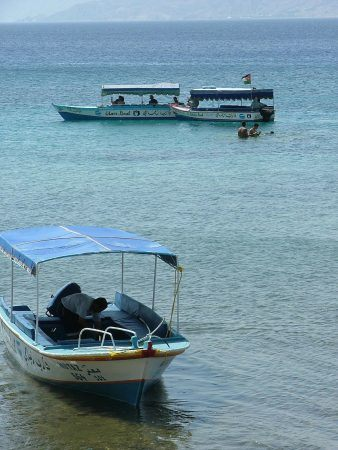 Glass bottom boats