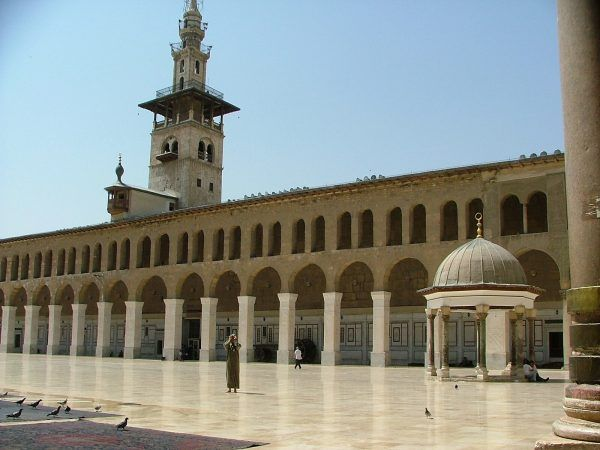 grand mosque damascus