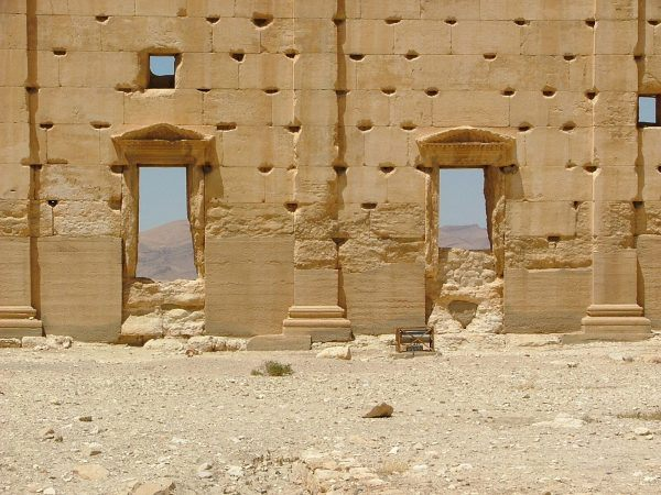 The temple of Bel close up