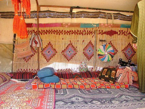 Stunning Tent interior