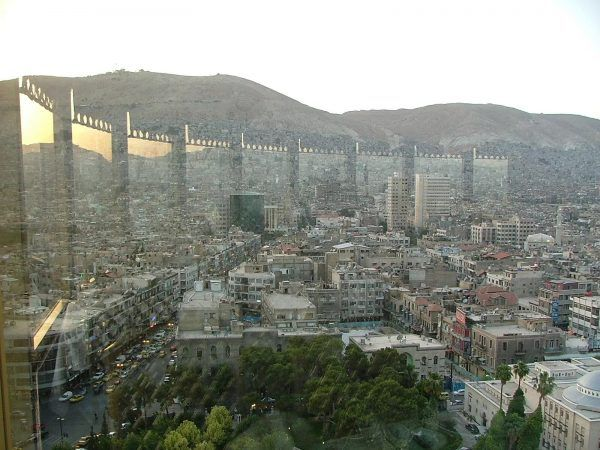 View over Damascus