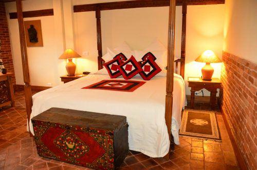 bedroom at dwarika's hotel kathmandu