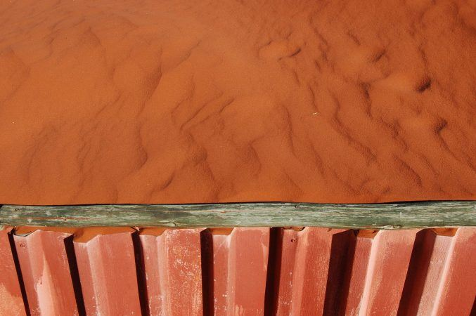 Even the sand is a stunning colour
