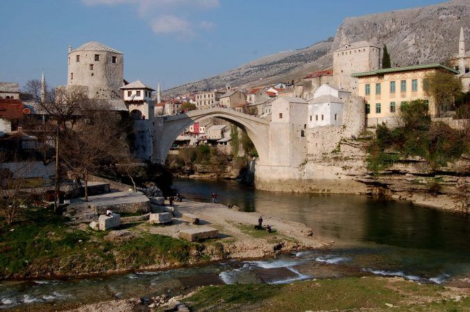 The famous Mostar Bridge