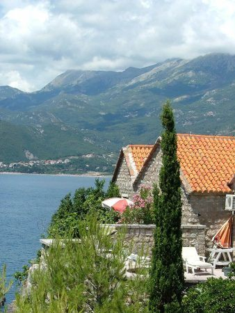 View from Sveti Stefan