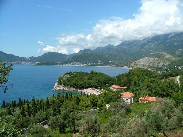 The stunning Bay of Kotor
