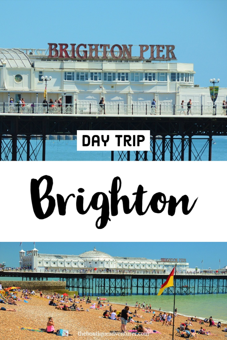 From where to eat to local art to the best fish and chips plus some shopping here is my Perfect Day Trip to Brighton for Adults #england #brighton