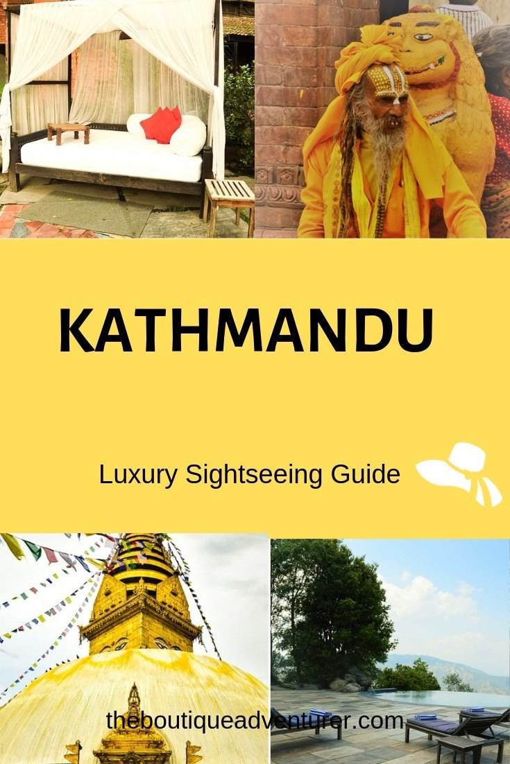 Looking for some luxury after your trek? Kathmandu isn't all youth hostels. Check out my luxurious guide to Kathmandu Sightseeing - you've earnt it! Bodnath Stupa, The Monkey Temple, Durbar Square, Dwarika's, Kathmandu Shopping, Garden of Dreams - it's all here #kathmandu #nepal