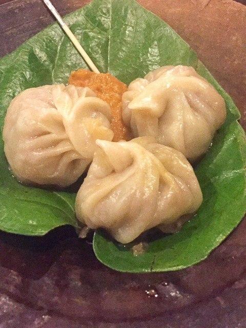 dumplings at Krishnarpan restaurant in kathmandu