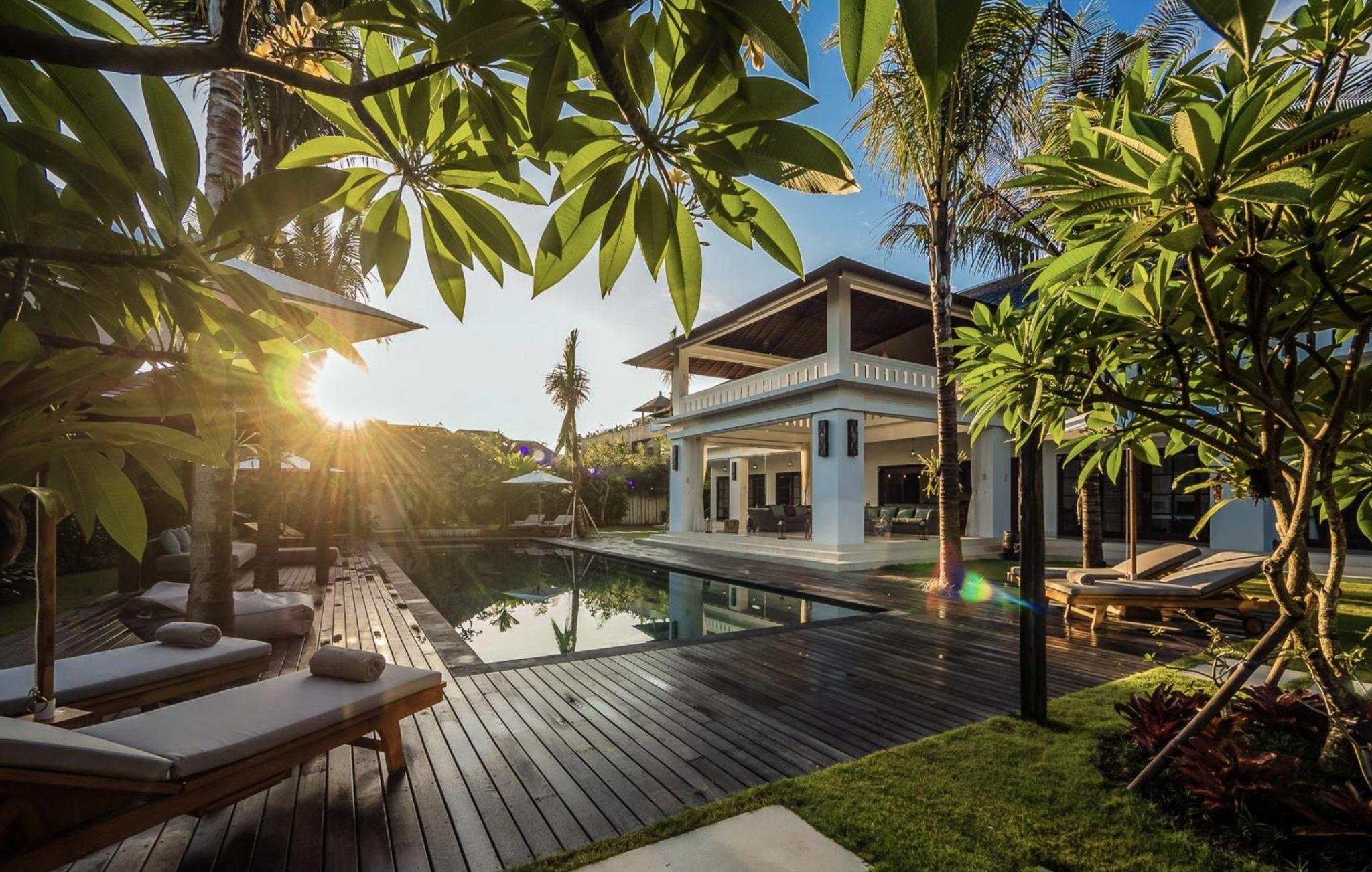 Villa Tjitrap Seminyak Bali - a great option if you're looking for where to stay in bali