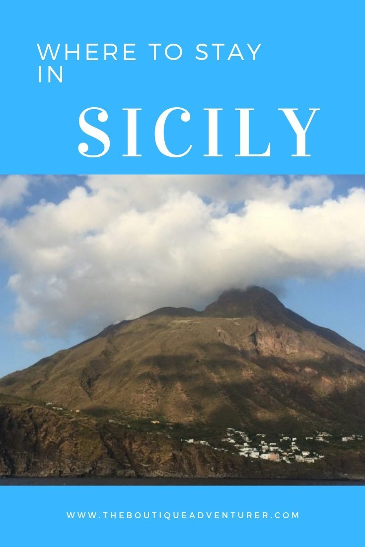 Trying to decide where to stay in Sicily? Click here to find out the 3 cities you must visit and their boutique hotel offers - as well as some highlights of what to do while you're there #sicily #italy