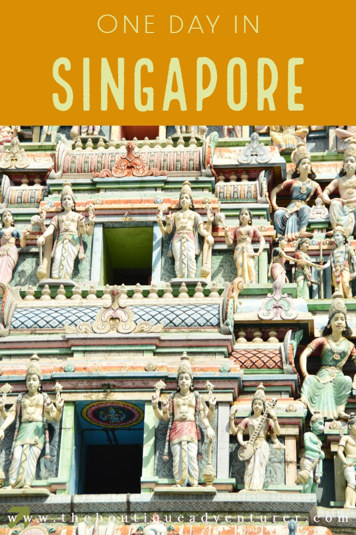 Here is what not to miss, hidden gems plus the top Singapore classic tourist sights and how to fit them in to one day in Singapore #singapore