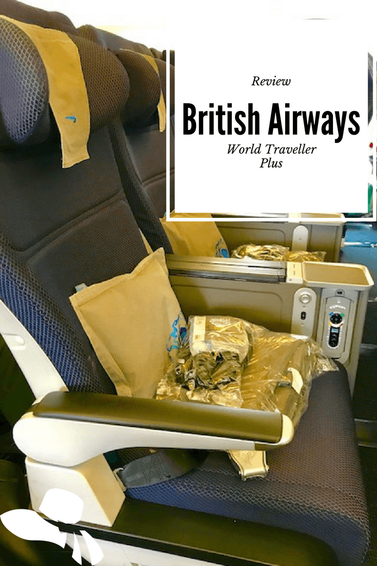 My review of British Airways World Traveller Plus