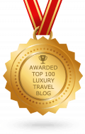 logo for top luxury travel blog