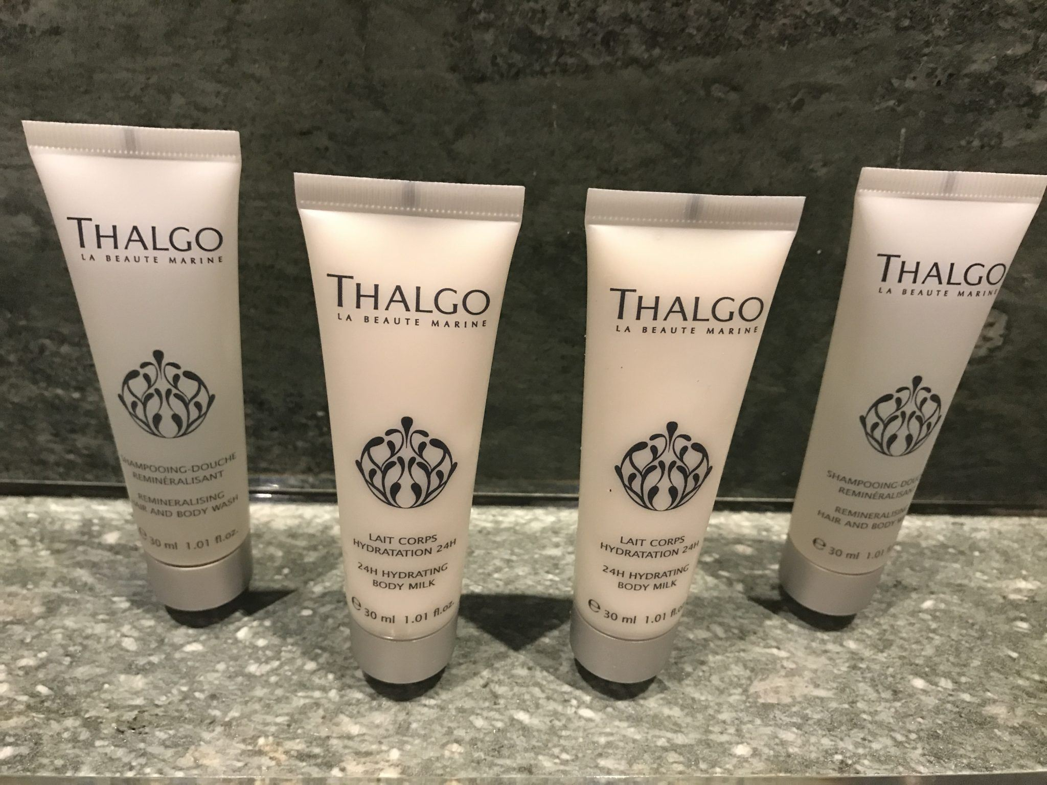 thalgo toiletries in bathroom at Arosa Kitzbühel