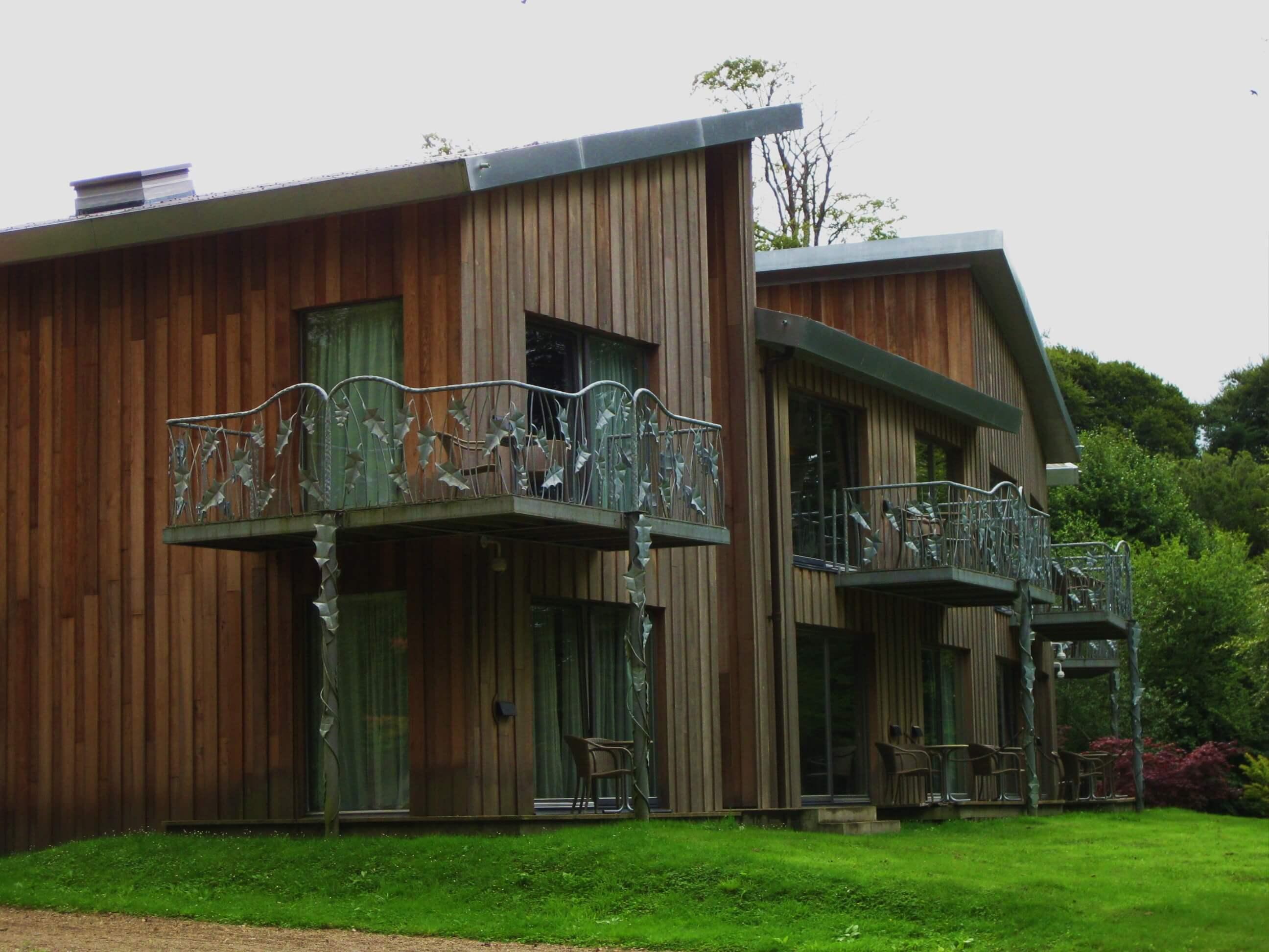 external view of accommodation monart spa ireland