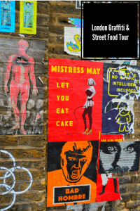 London street art has exploded but it is often down side and back streets so having a guide makes a huge difference - especially when they know where to find fab snacks! Here is my post on a london graffiti and street food tour thanks to Local Guddy #localguddy #londongraffiti #streetart #street food