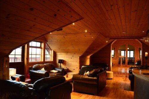 the upstairs lounge at hotel ranga iceland