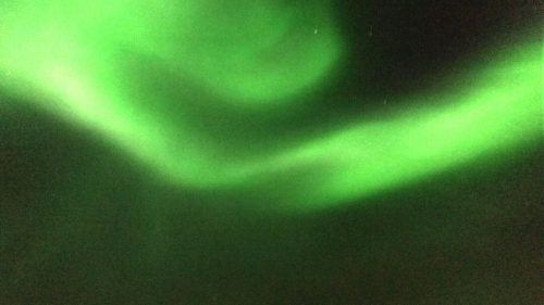 the northern lights in the iceland sky
